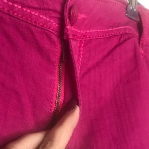Lane Bryant Shorts - Lane Bryant hot pink jean denim shorts. Size 18